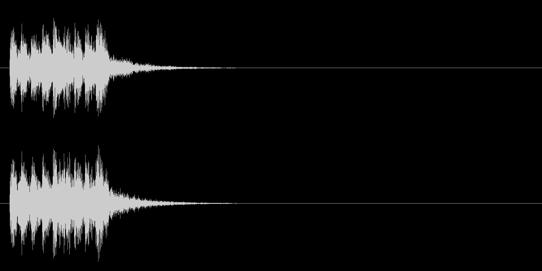 ジングル/アタック(ポップ/ロック)の未再生の波形