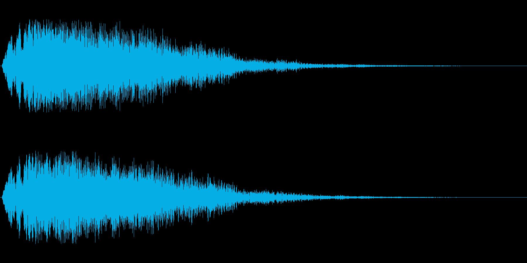 キラキラ流れ星(ダウン)の再生済みの波形