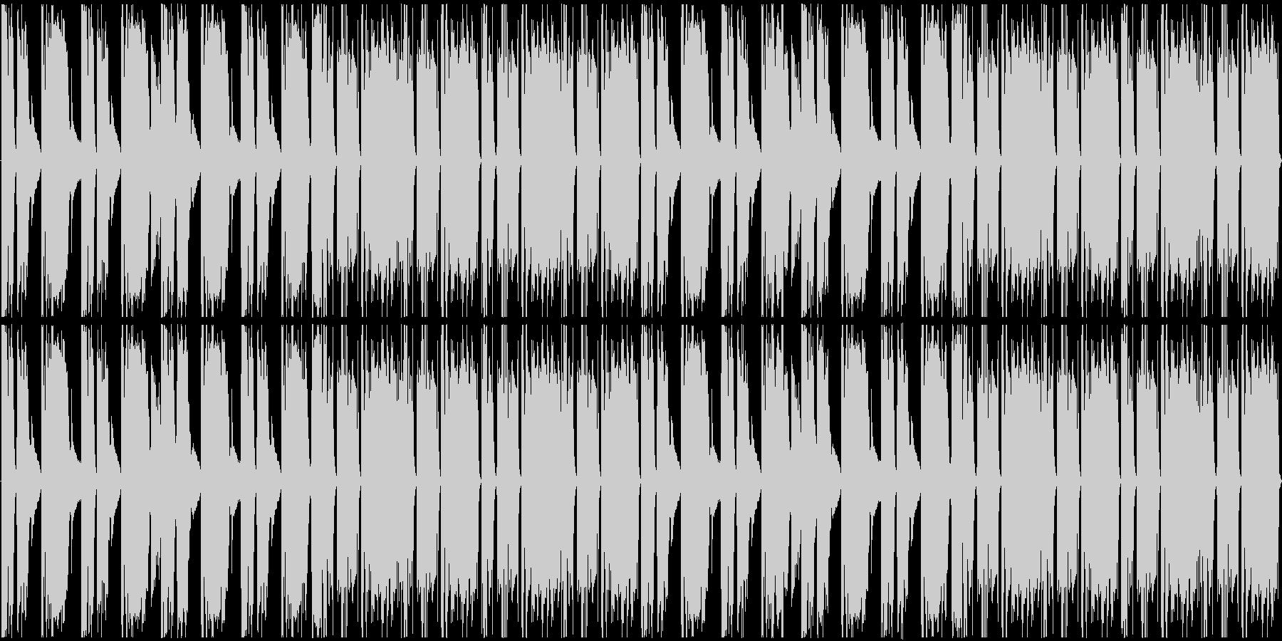 急がされる曲です。27秒の短い曲です。…の未再生の波形