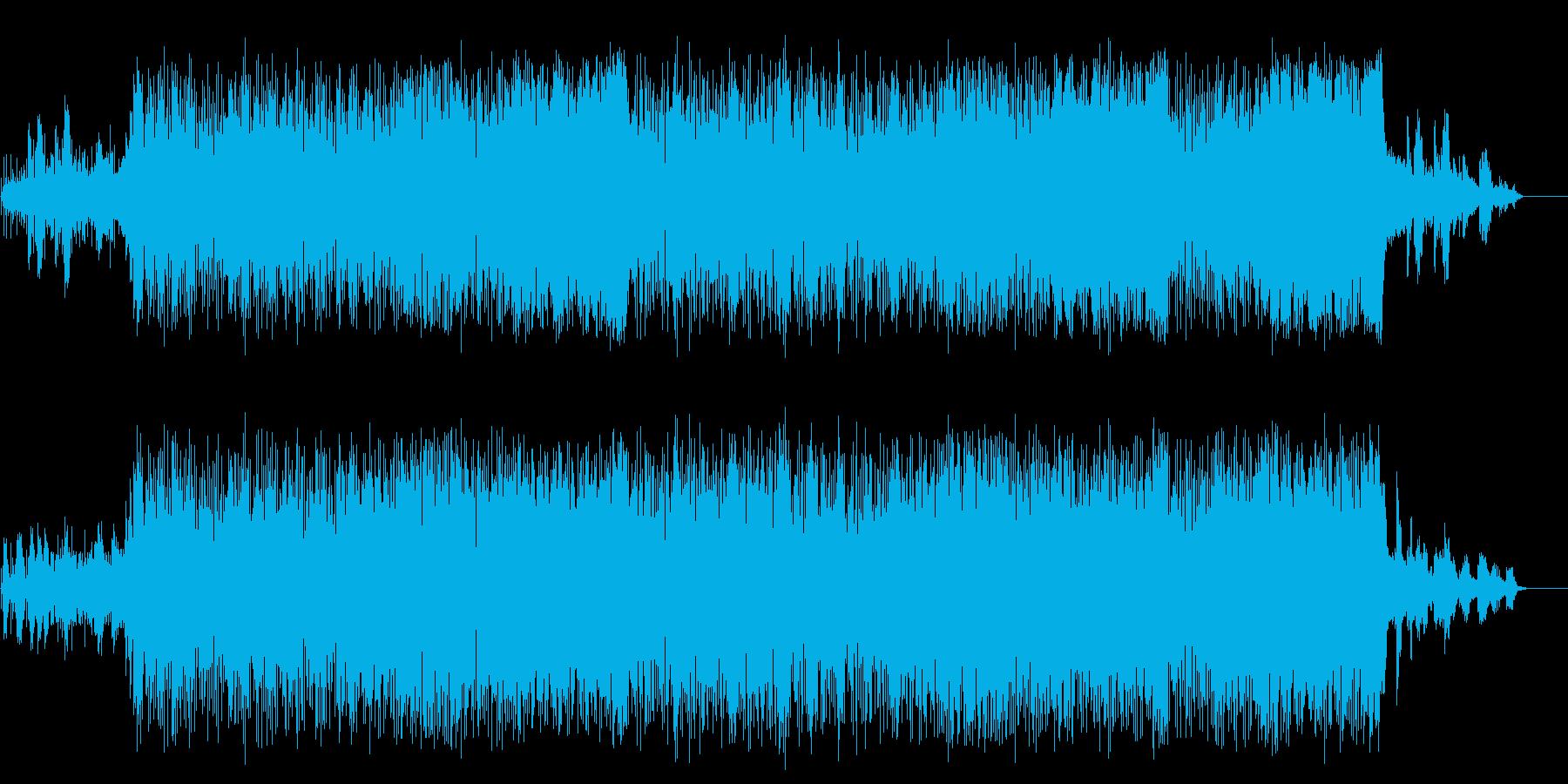 ファンキーなポップ/テクノ/マイナーの再生済みの波形