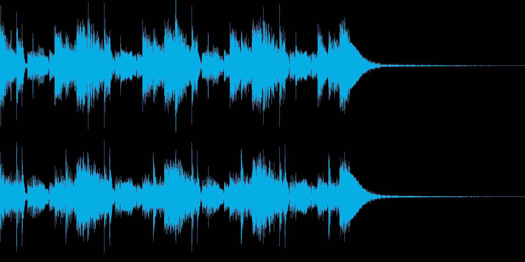 都会的エレクトロジングルの再生済みの波形