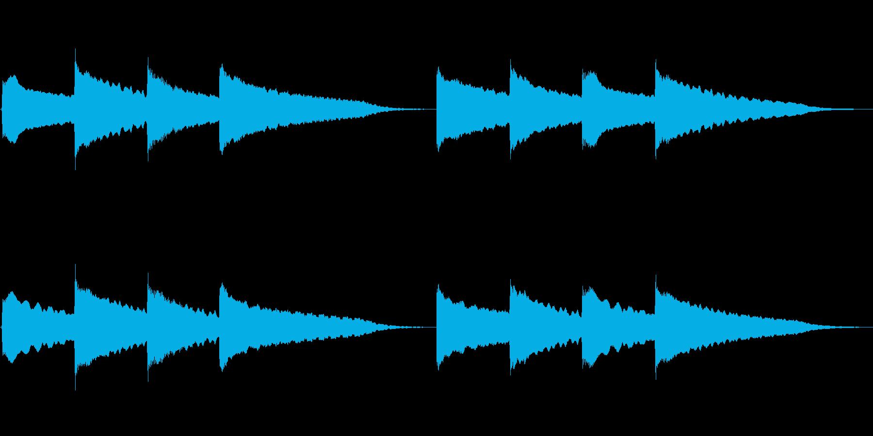 ピンポンパンポン (4)の再生済みの波形