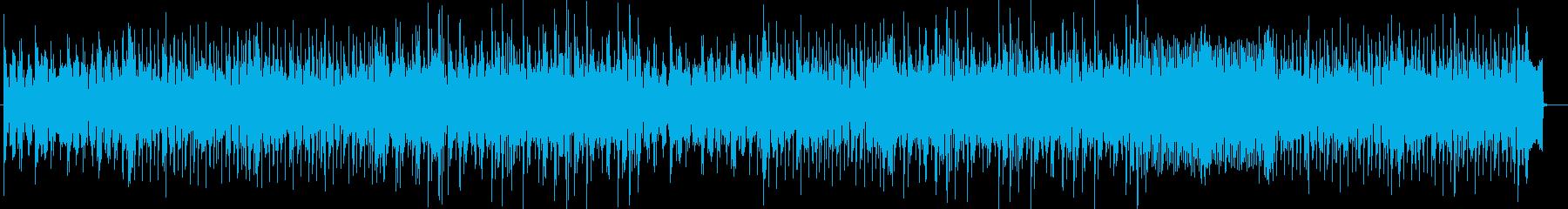 クラブ系シンセテクノポップの再生済みの波形