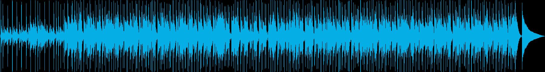 キラキラしたウクレレ風のpopで可愛い曲の再生済みの波形