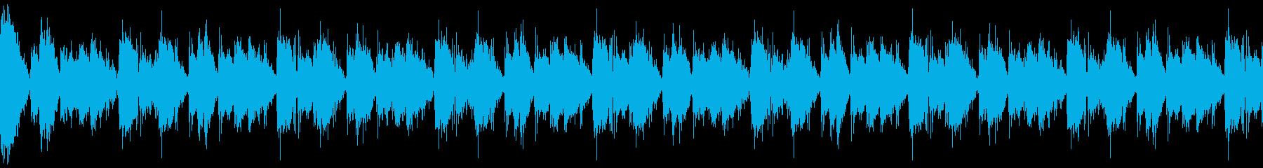 【ループA】シリアスでクールなテクノの再生済みの波形