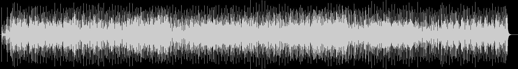 躍動感溢れるリズムミュージックの未再生の波形
