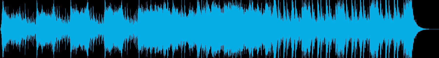 ゲーム用/勇猛なハンターのBGMの再生済みの波形