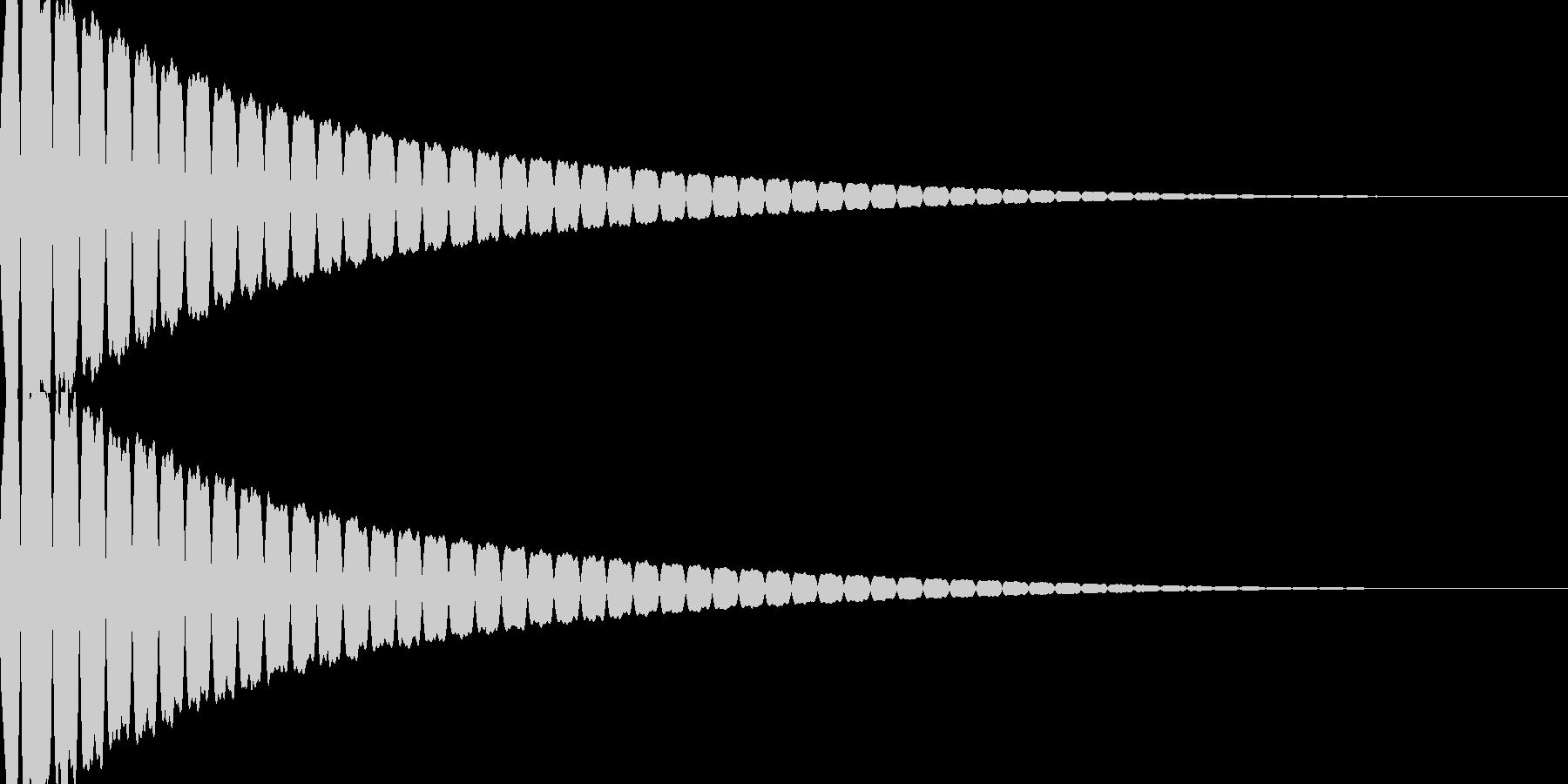 キュイン(飛ばされて星になる タイプ1)の未再生の波形