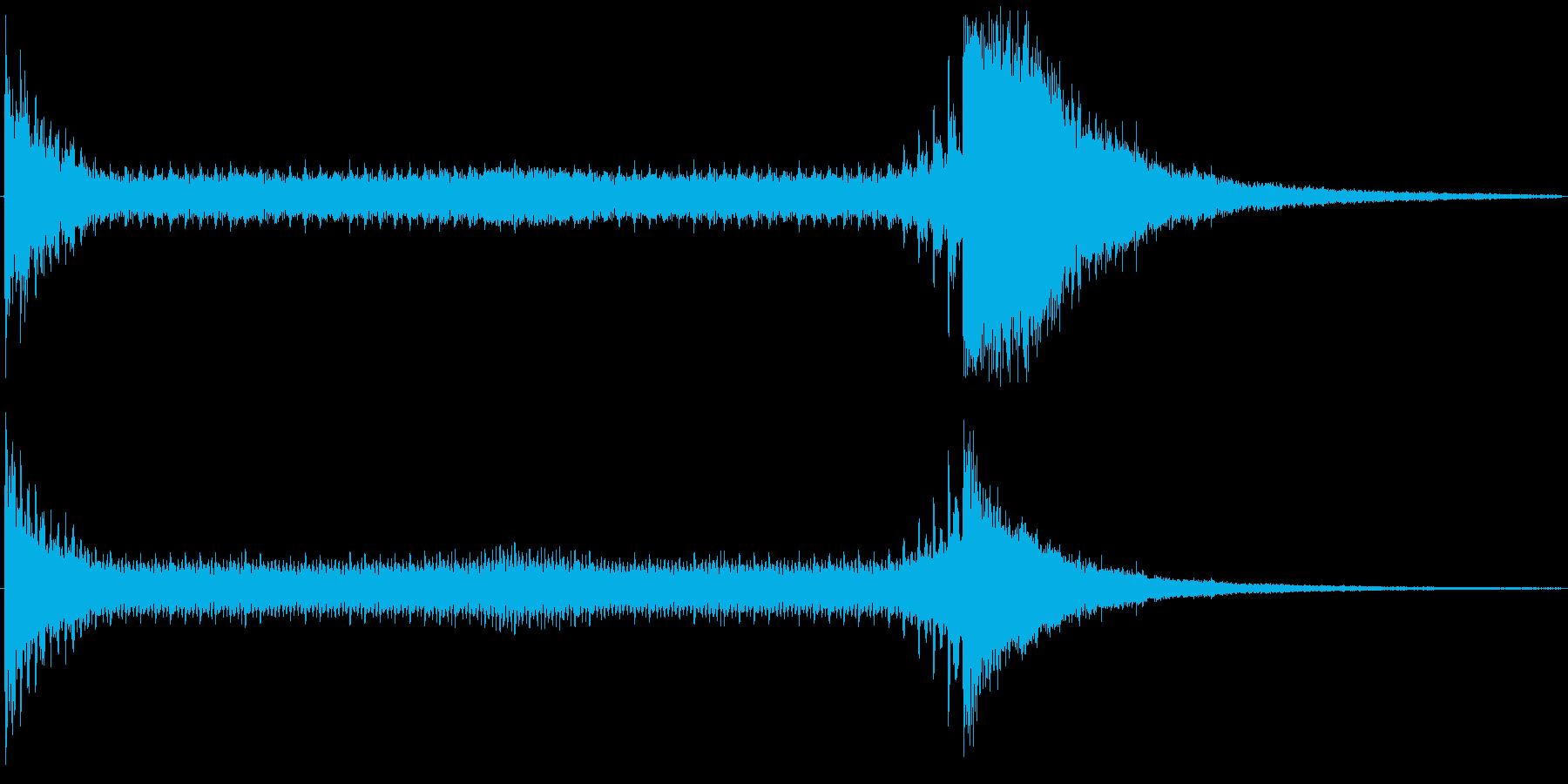 ドゥルルル・・ジャーン!(ドラムロール)の再生済みの波形