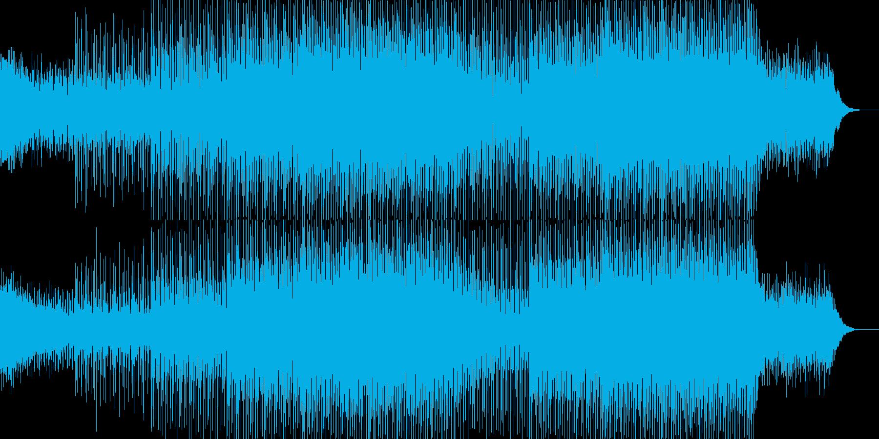 EDMポップで明るいクラブ系-35の再生済みの波形