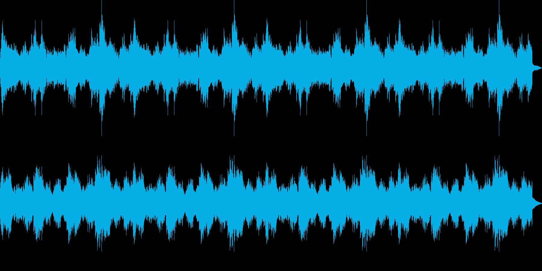 美しく幻想的なヒーリングジングル_ロングの再生済みの波形