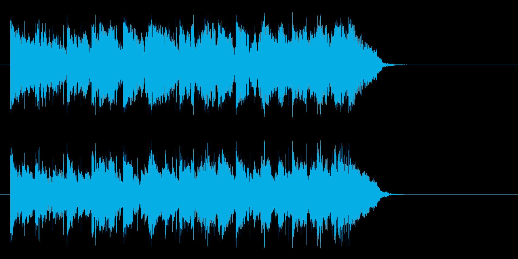 優しいアコースティック(Aメロ)の再生済みの波形