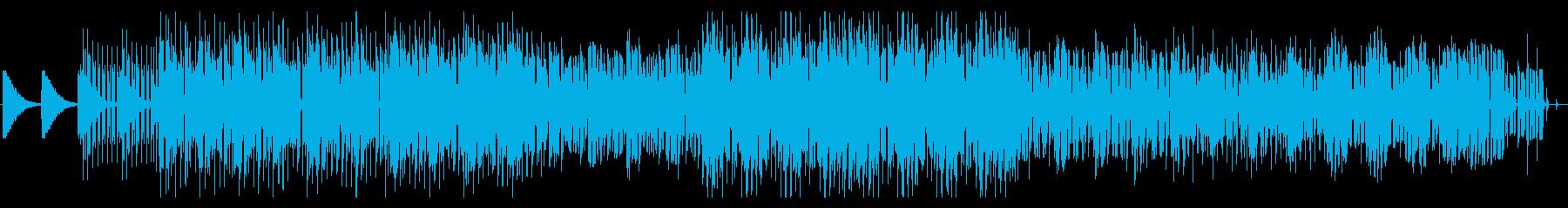 ピアノとボコーダーが印象的なEDMの再生済みの波形