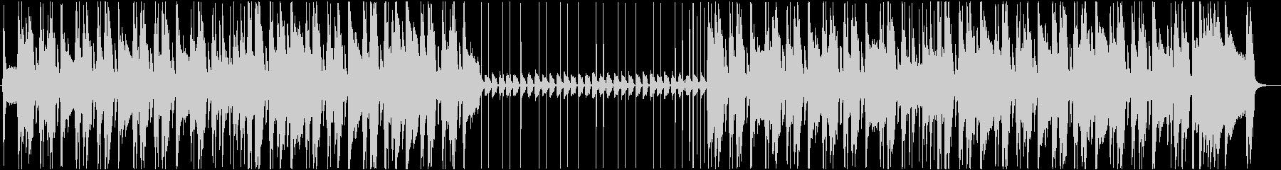 スタイリッシュなアコースティックギターの未再生の波形