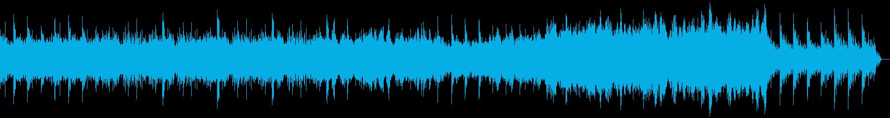 優しく穏やか 幸せ系の映像に の再生済みの波形