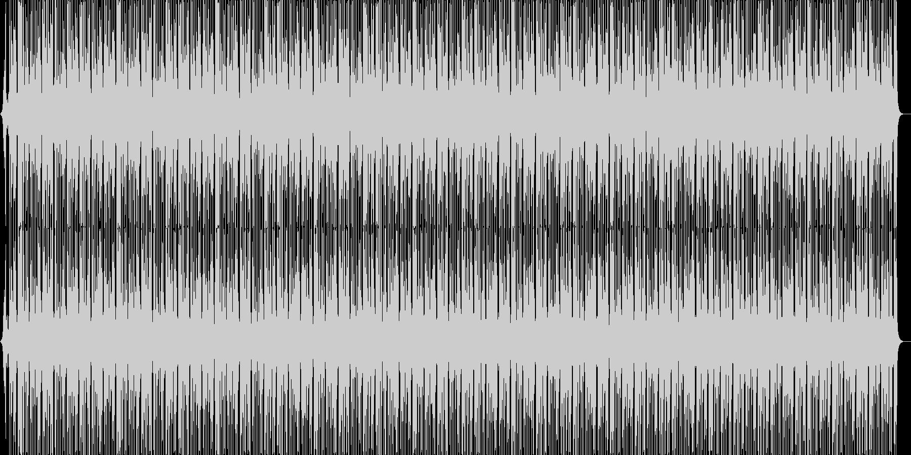 ジャングルBGM(メロ無し)の未再生の波形