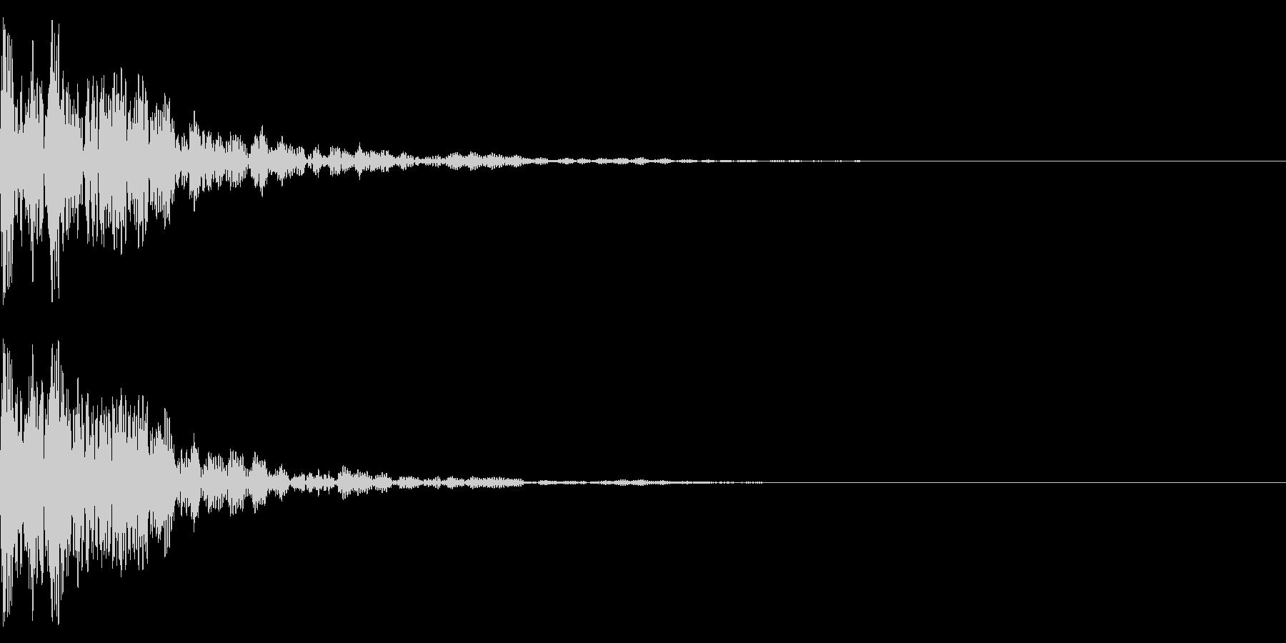 和太鼓と鈴でドドンの未再生の波形
