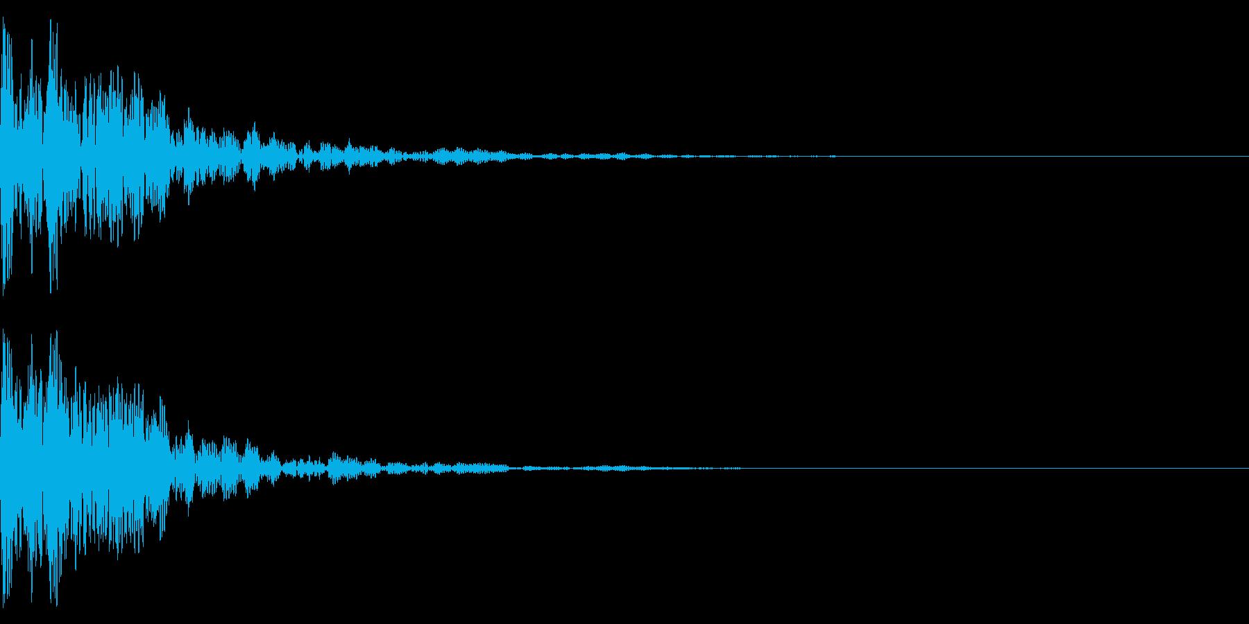 和太鼓と鈴でドドンの再生済みの波形