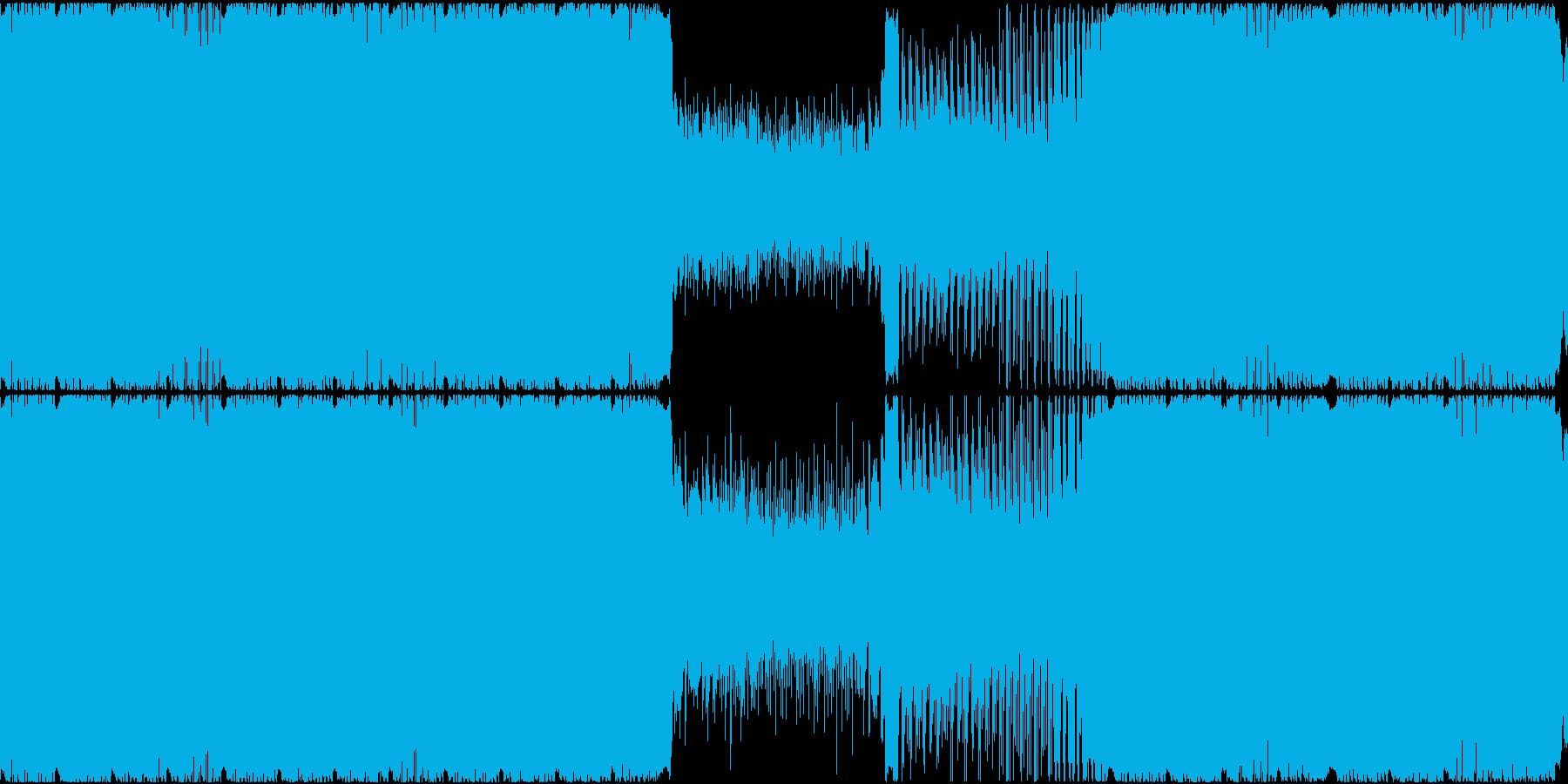 ゲーム用BGM 鉱物的な曲の再生済みの波形