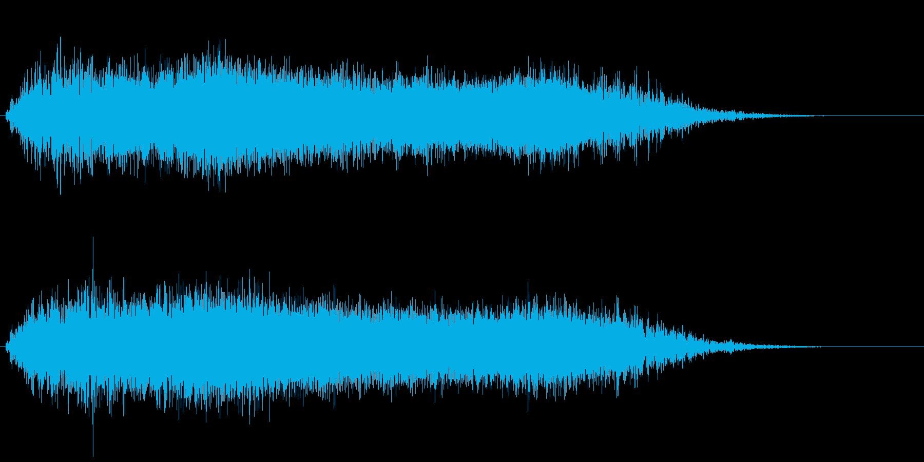 SF 移動音12の再生済みの波形