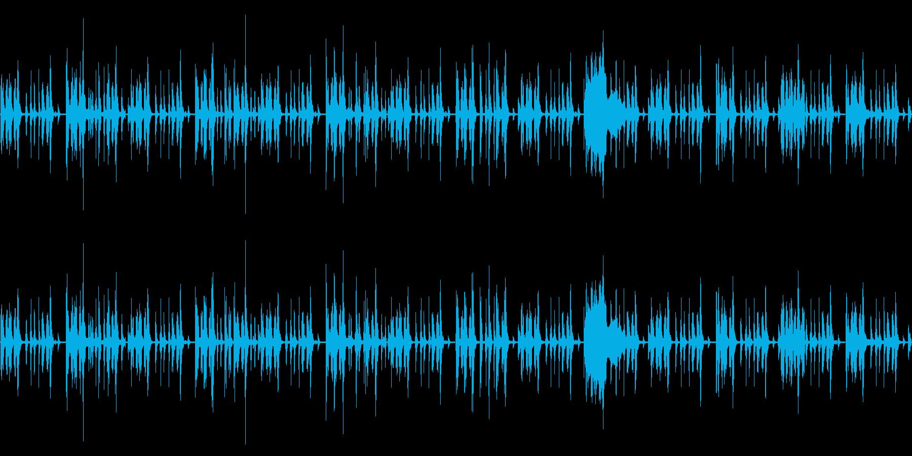 LIVE、イベントの曲間BGMの再生済みの波形
