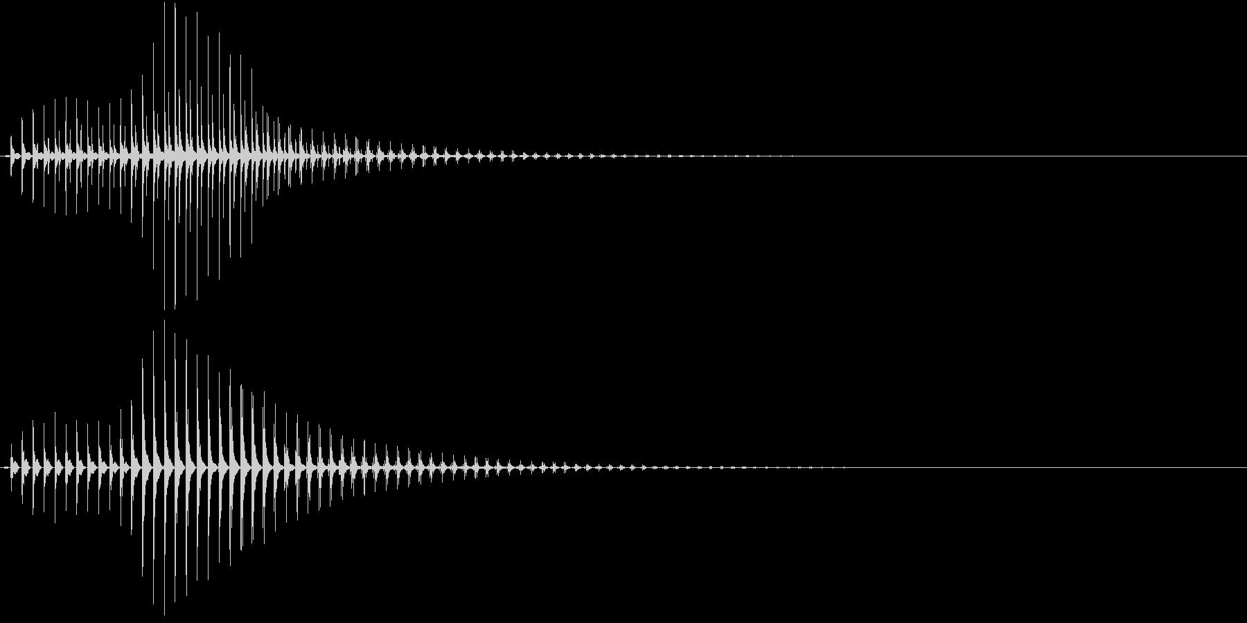 SF CinemaFX 未来の電子音の未再生の波形