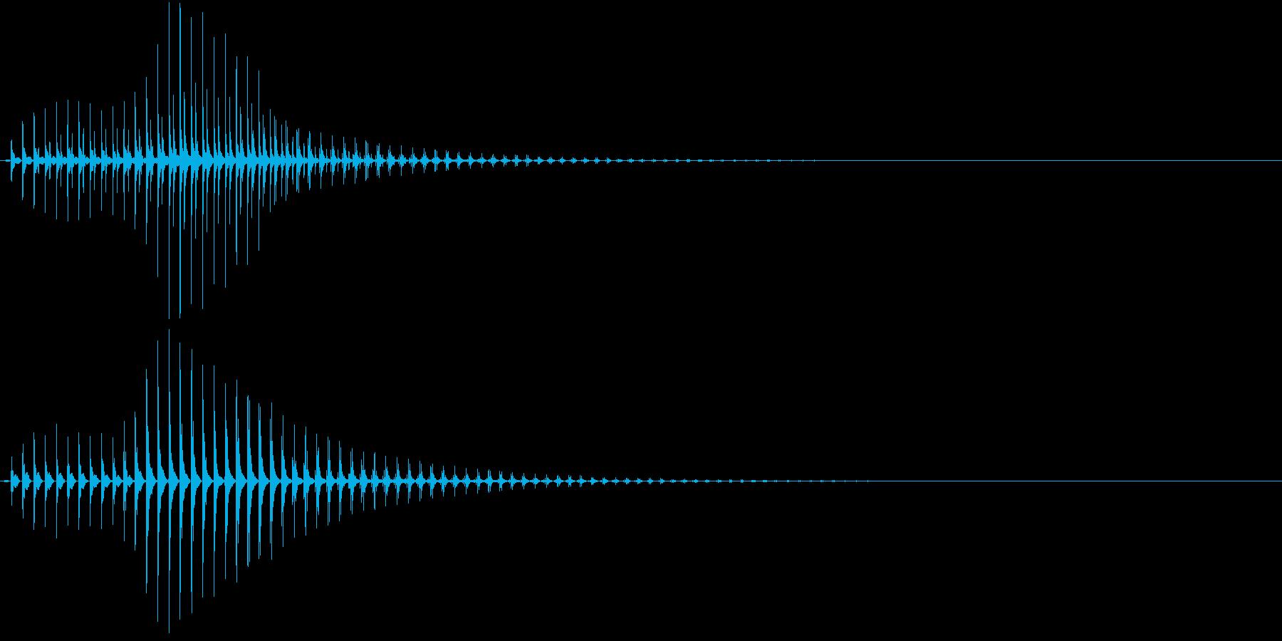 SF CinemaFX 未来の電子音の再生済みの波形