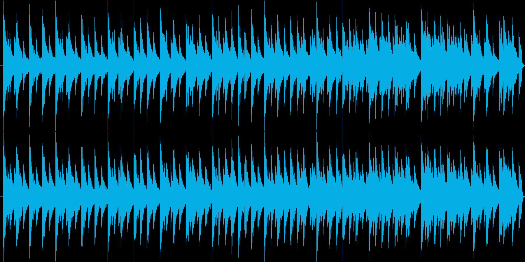 ファミコン時代のRPG懐かしさ可愛らしさの再生済みの波形