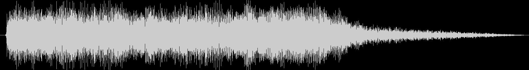 クラシックなイベントロスト曲2の未再生の波形