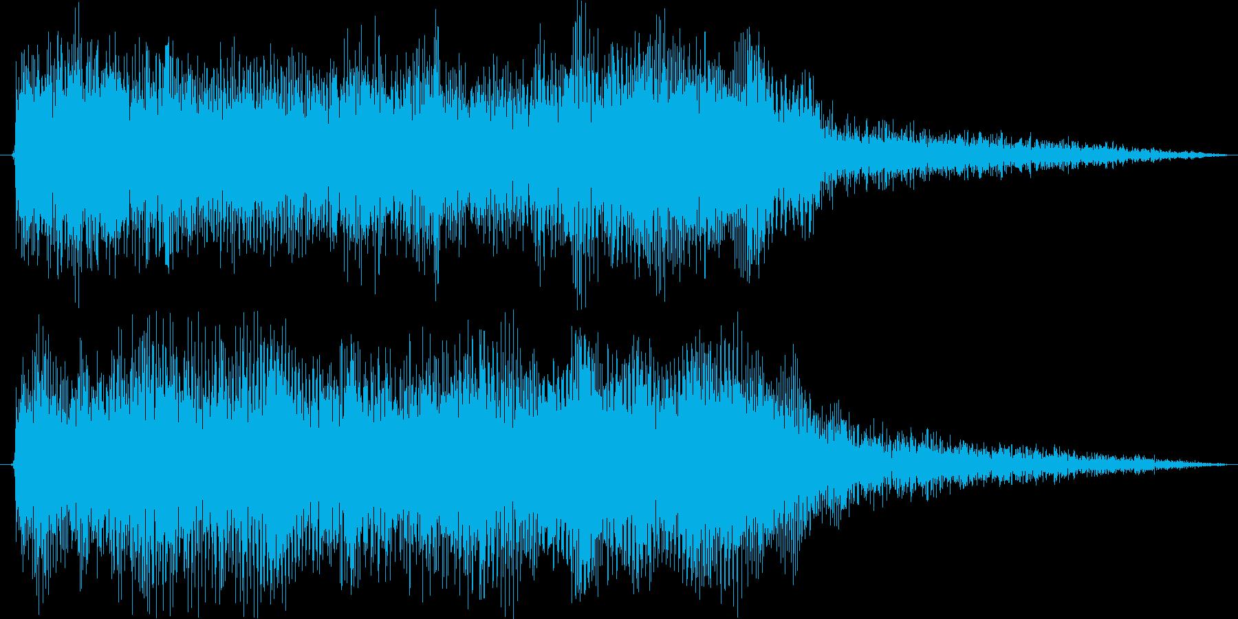 クラシックなイベントロスト曲2の再生済みの波形