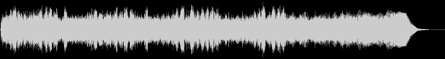 ヘビーメタルのリズムギター バッキングAの未再生の波形