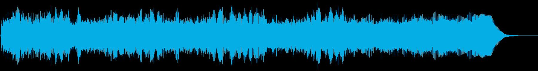 ヘビーメタルのリズムギター バッキングAの再生済みの波形