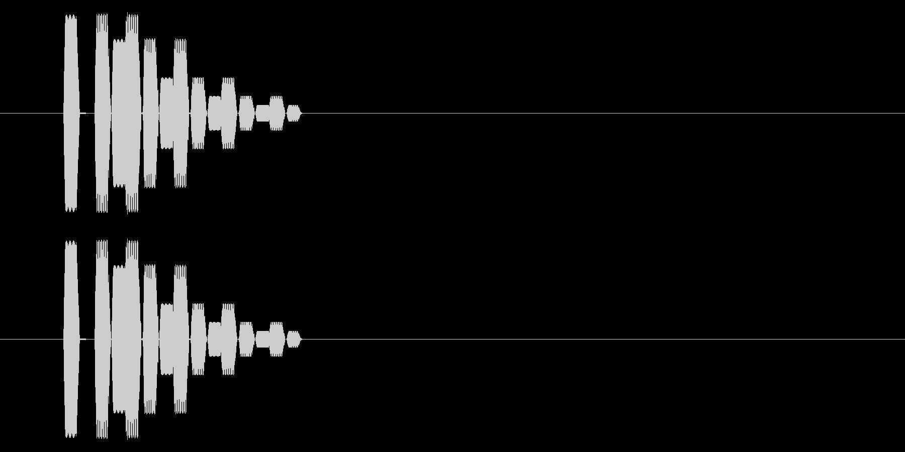 SNES シューティング02-14(選択の未再生の波形