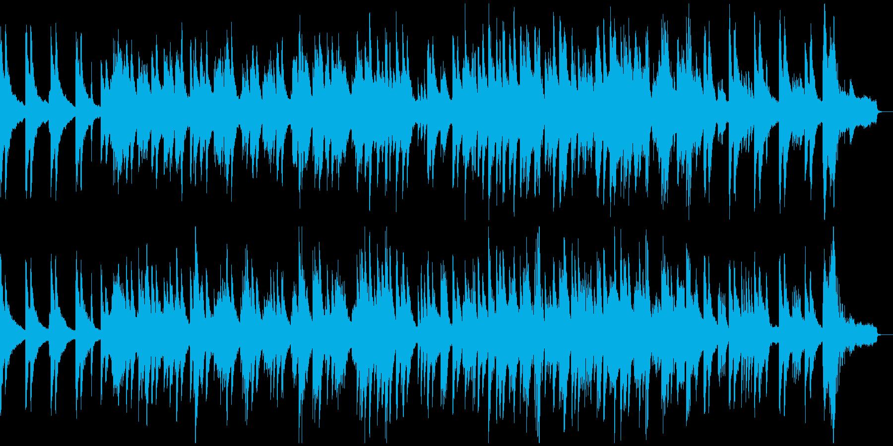 哀愁感漂うピアノソロの再生済みの波形