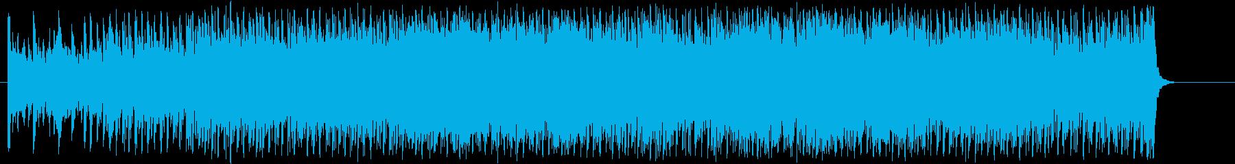 煮詰まる感じのハイパーエレクトロポップの再生済みの波形
