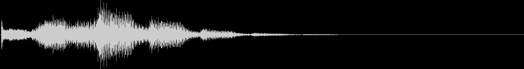 ピロロロン(決定、スワイプ、表示)の未再生の波形