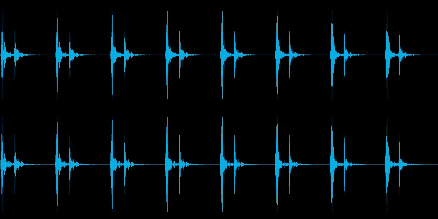 【 心臓 】ドックンドックン (普通)の再生済みの波形