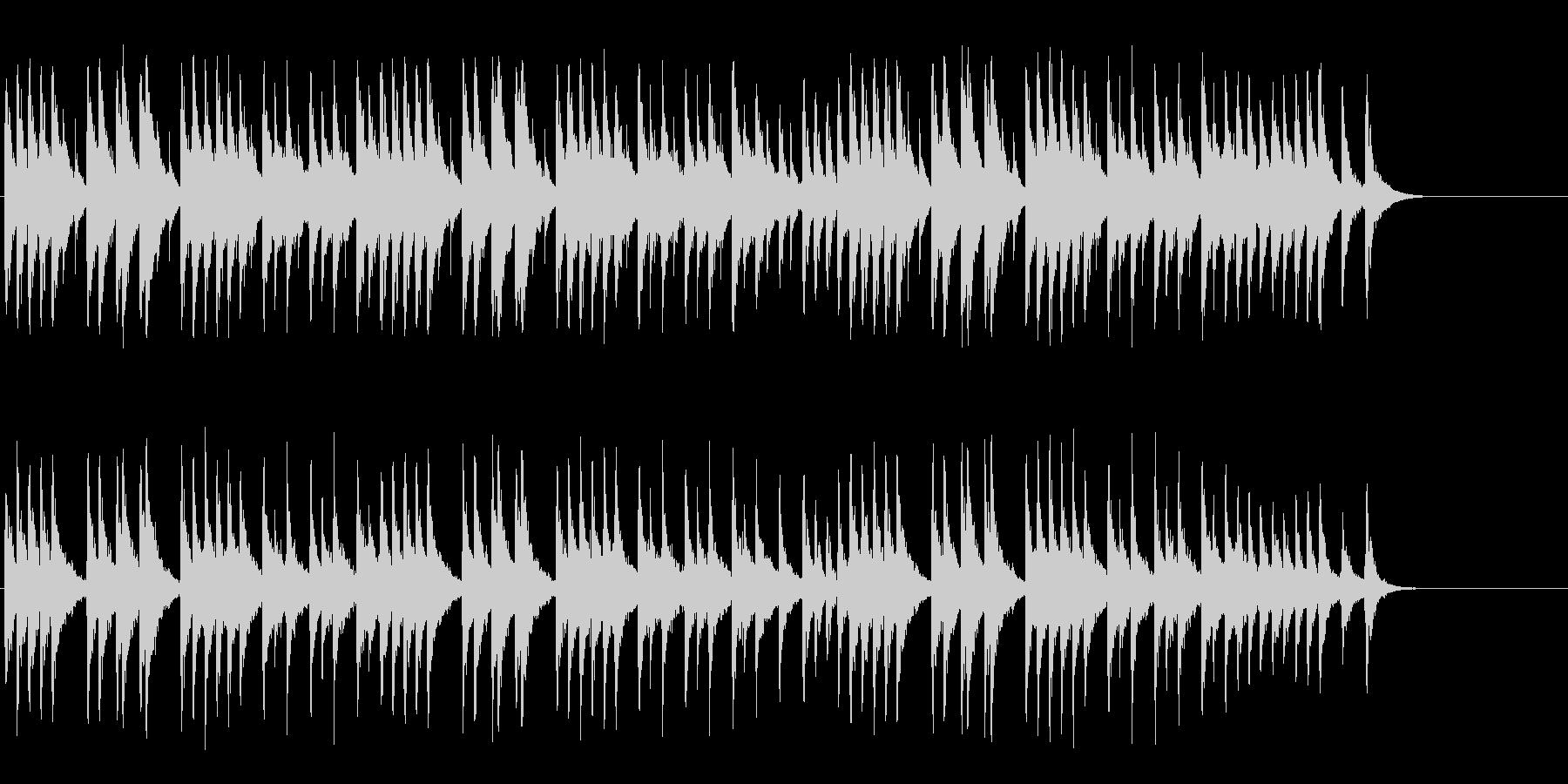オルゴールがメルヘンへと誘う神秘的なBGの未再生の波形
