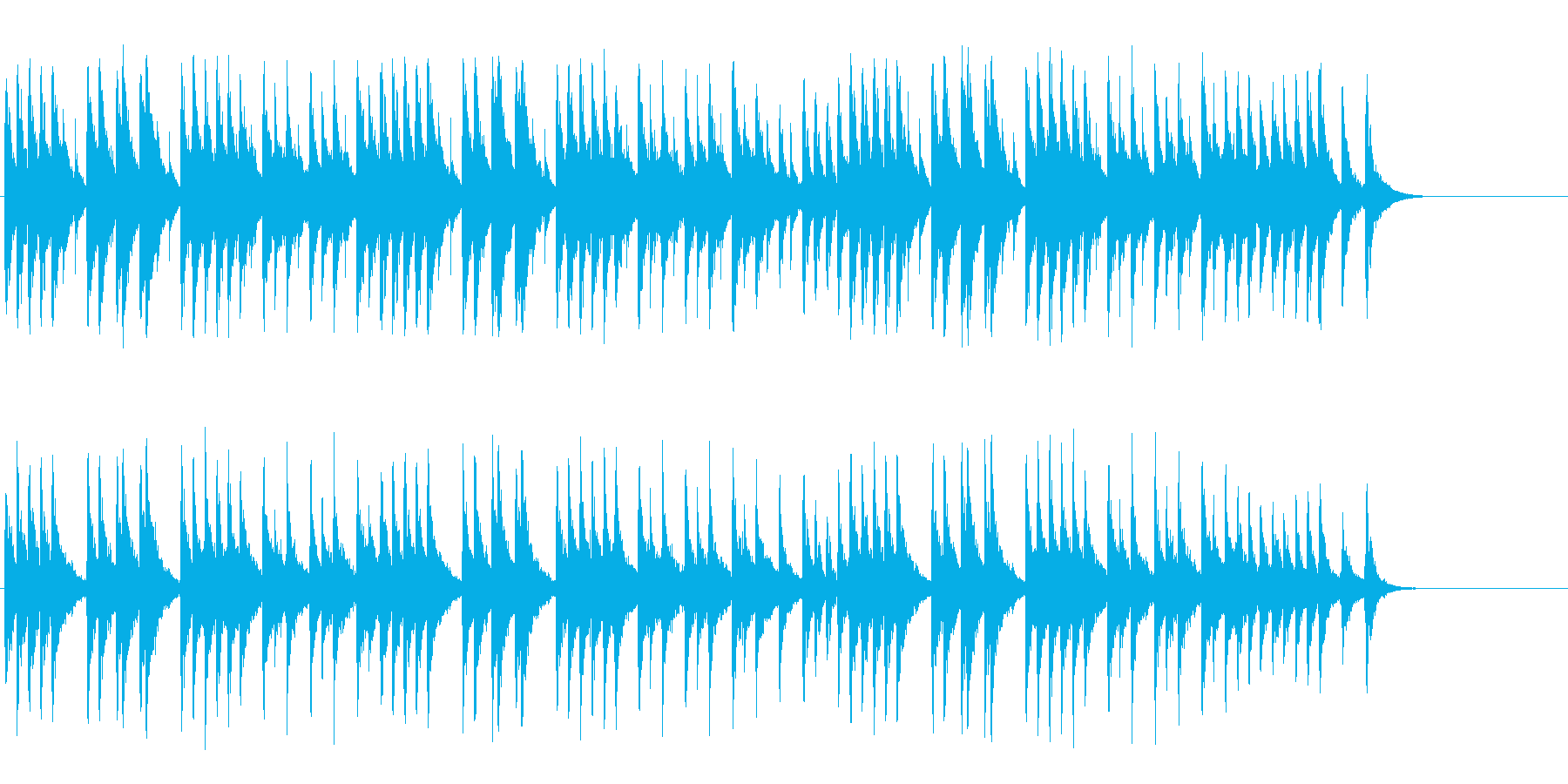 オルゴールがメルヘンへと誘う神秘的なBGの再生済みの波形