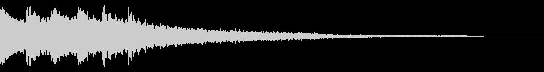 実験 結果 浮かぶ 答え キラリン 01の未再生の波形