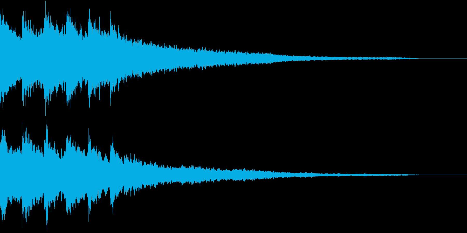 実験 結果 浮かぶ 答え キラリン 01の再生済みの波形