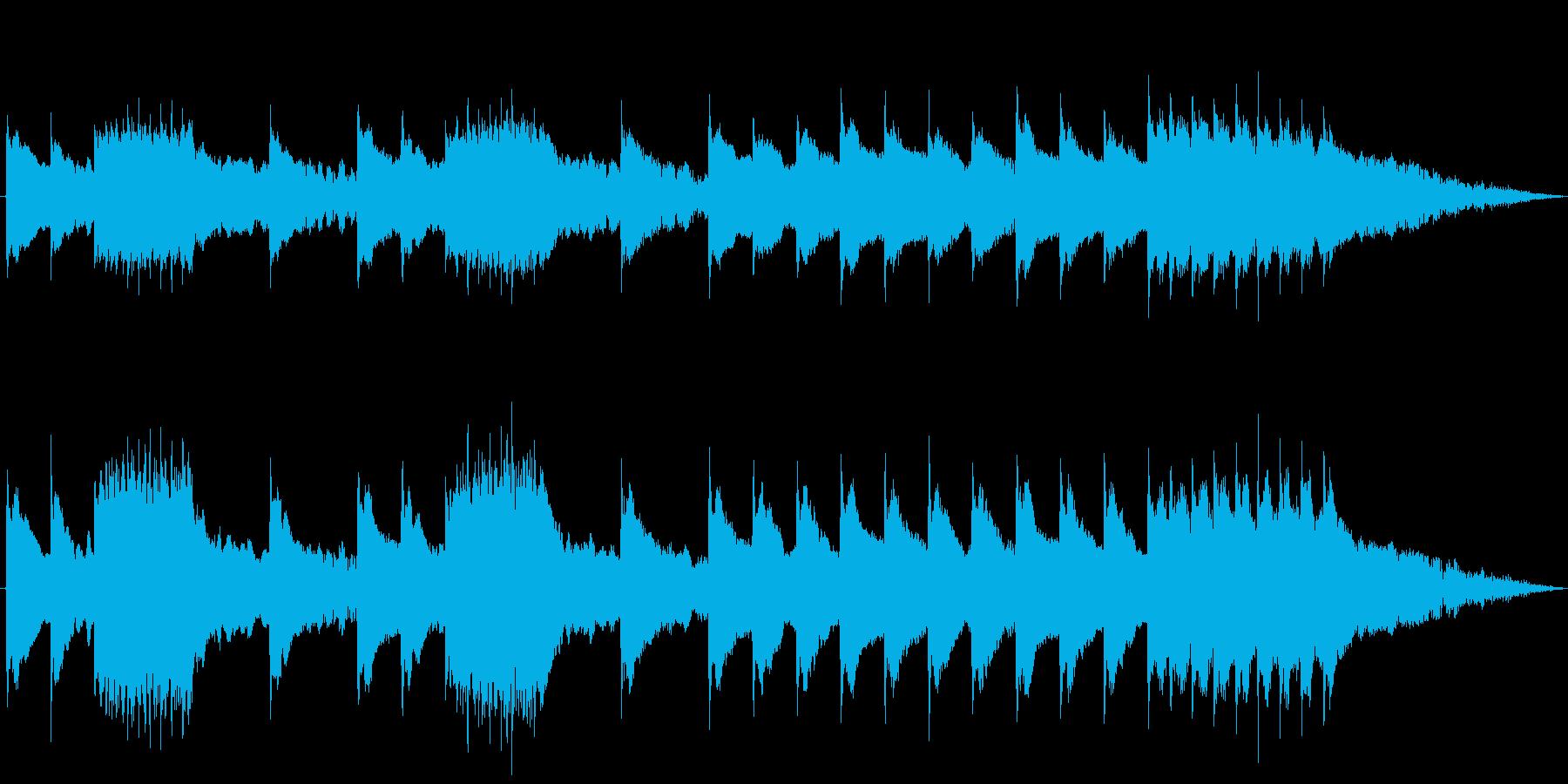 携帯電話の着信音(眠れる森の美女第一幕)の再生済みの波形