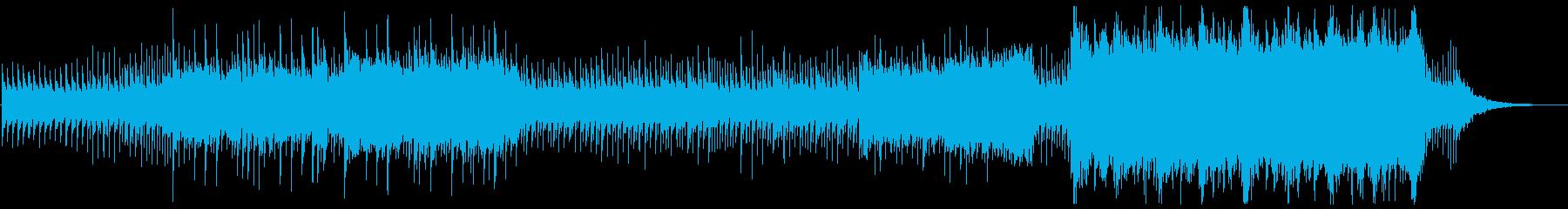 緊張感をあおるドキュメンタリー音楽の再生済みの波形