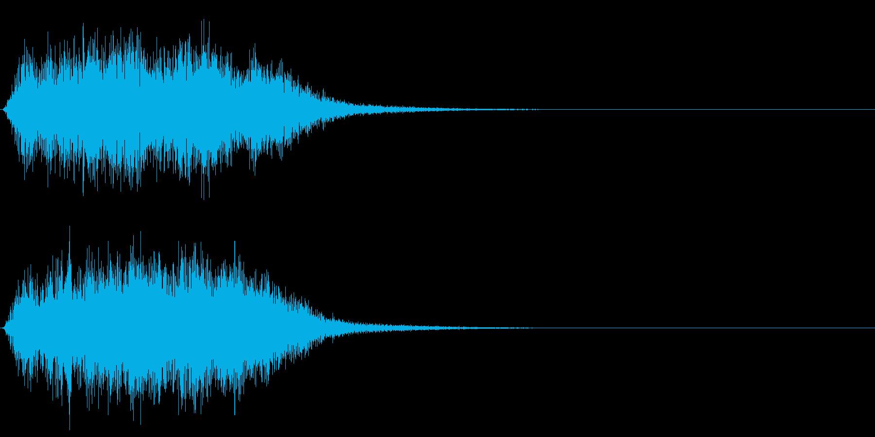 ワープ音 (ゴーウニョニョニョニョ)の再生済みの波形