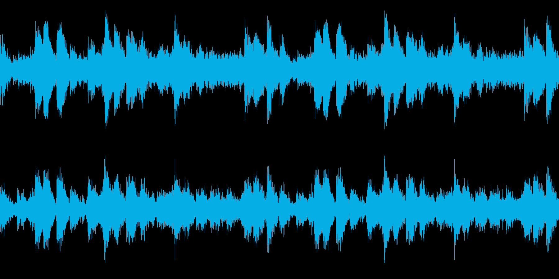 ゆったりめのアンビエント調エレクトロニカの再生済みの波形