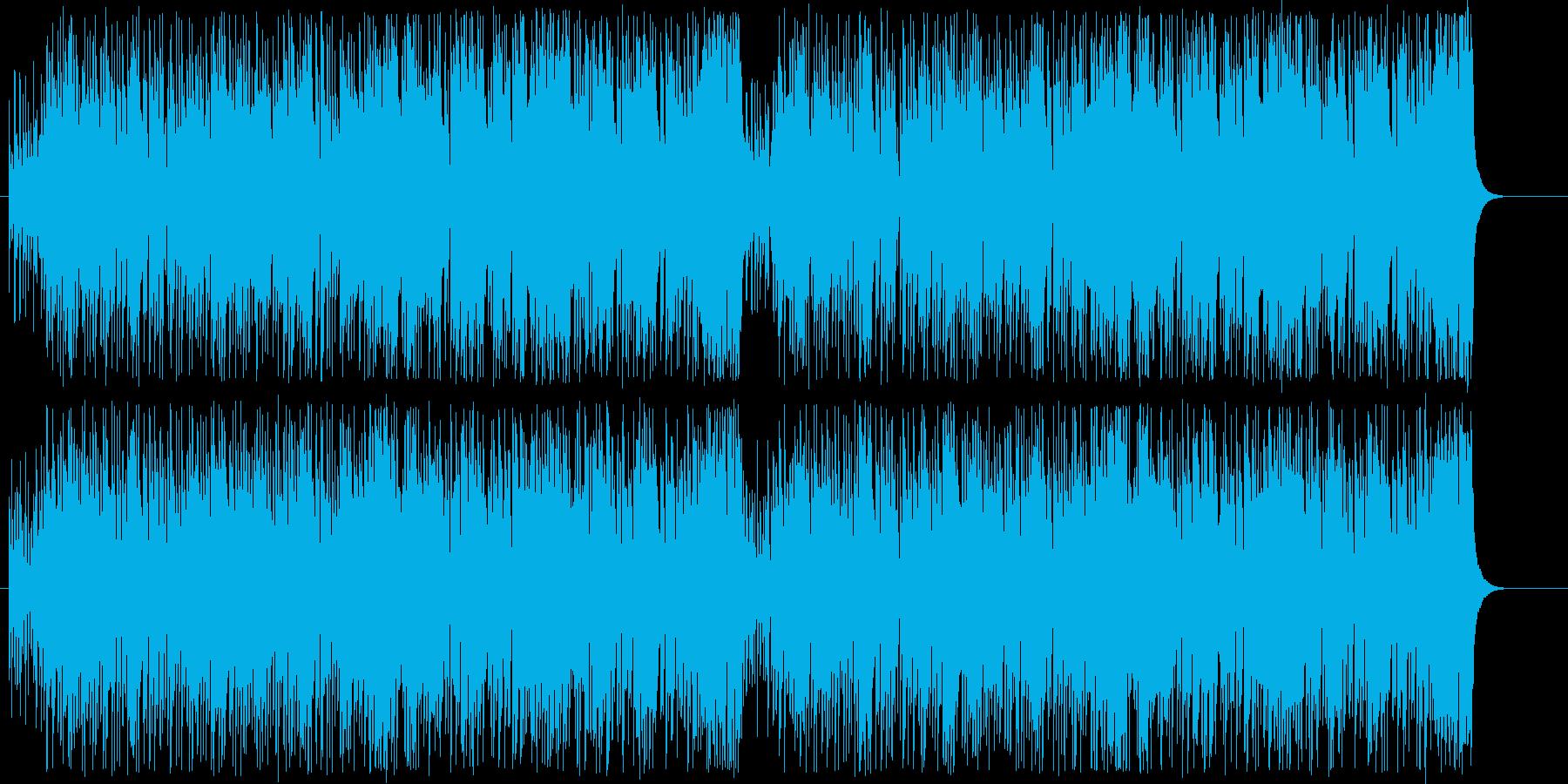 南国的なイメージのポップス。ループ可。の再生済みの波形