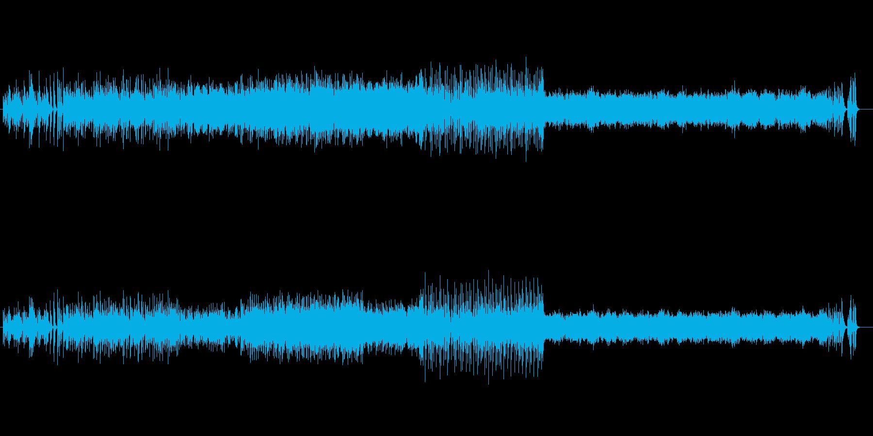 ちょっと変わった和風フュージョンの再生済みの波形