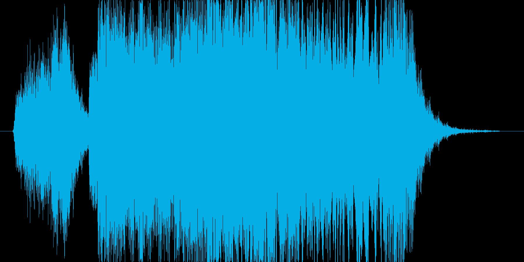 (叫び声)の再生済みの波形