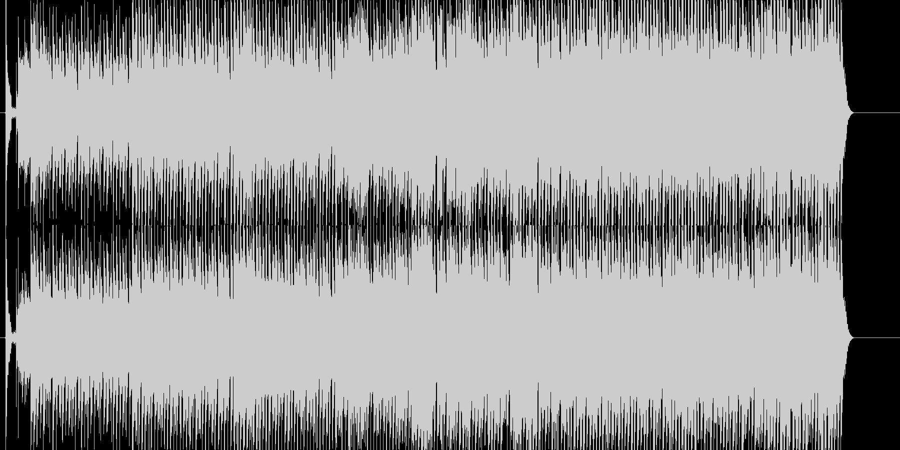にぎやか 淡々 いきいき 雑踏 力強いの未再生の波形