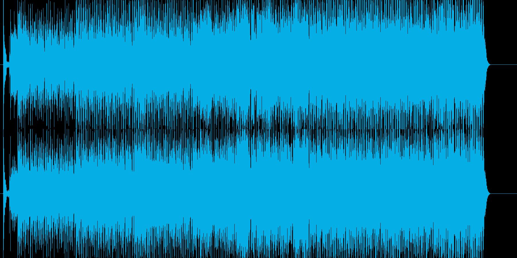 にぎやか 淡々 いきいき 雑踏 力強いの再生済みの波形